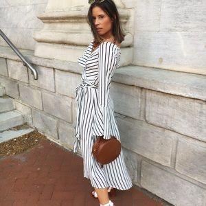 🆕Layla Striped Kimono Bell Sleeve Maxi Dress
